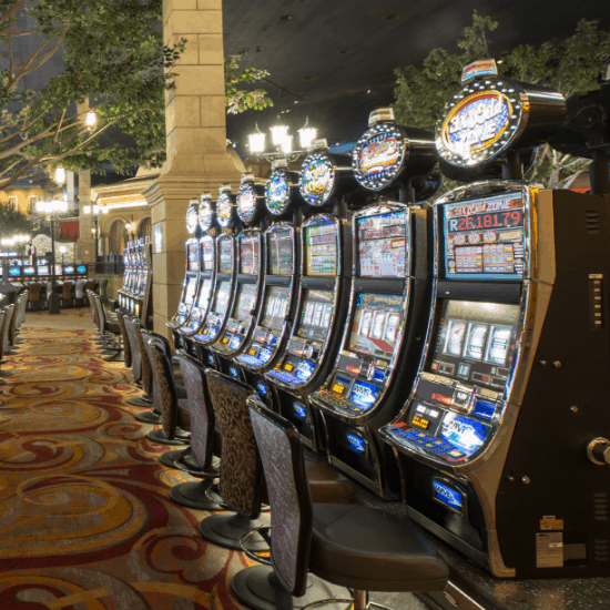 Montecasino slots on the gaming floor