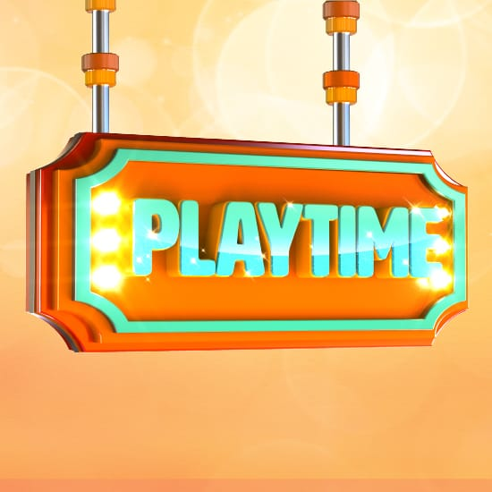PlayTime Gaming promotion square web banner