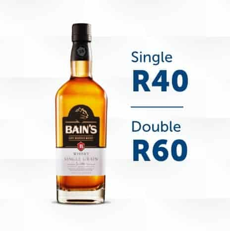 Bains bottle with single and double tot price square image